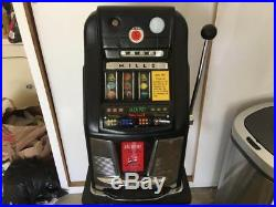 Antique Manual Mills 10 Cents Slot Machine In Working Conditions