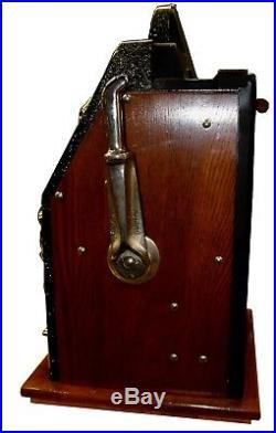 Antique Mills 1948 25cent Golden Nugget Bell Slot Machine