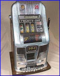 Antique Mills 21 High top Slot Machine