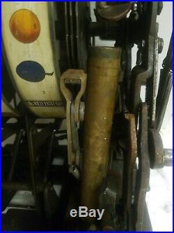 Antique Mills 25 Cent Gooseneck Slot Machine Mechanism As Found Look
