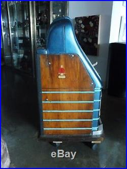 Antique Mills 25 Cent Slot Machine Sold As Is