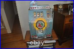 Antique Mills 25 cent Bursting Cherry Slot Machine
