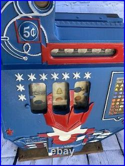 Antique Mills 5 Cent Castle Front Slot Machine