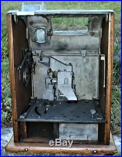 Antique Mills 5 Cent Poinsettia Sot Machine, Finish the Project