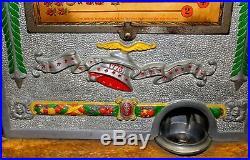 Antique Mills 5cent Operators Bell Art Deco Gooseneck Slot Machine, c. 1925