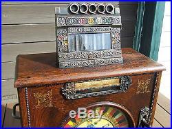 Antique Mills Brownie 5 cent nickel slot machine 1903