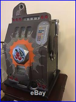 Antique Mills Bursting Cherry 25 Cent Slot Machine
