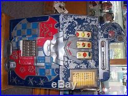 Antique Mills Castle Front 25 Cent Slot Machine