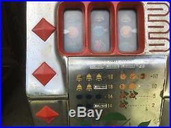 Antique Mills Diamond 5 Cent Slot Machine