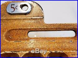 Antique Mills Diamond Front 5 Cent Slot Machine