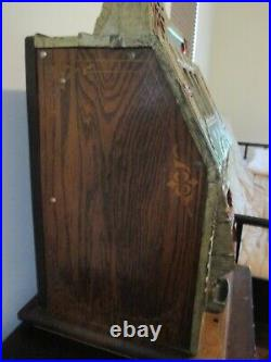 Antique Mills Novelty Company Rare Nickel Slot Machine, Working condition