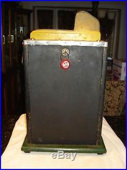 Antique Mills Roman Head 5 cent Slot Machine