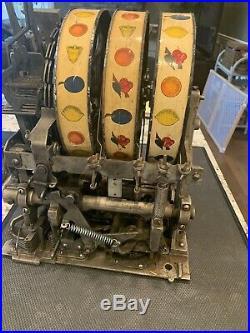 Antique Mills Slot Machine Five Cent Mechanism
