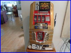 Antique Mills Slot Machine Golden Nugget 5 Cent