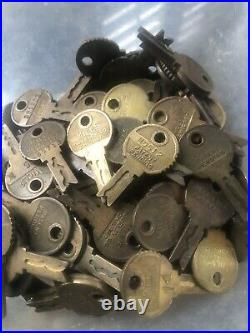 Antique Mills Slot Machine Keys- One Hundred And Thirty-Two (132) Total