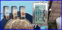 Antique Mills Slot Machine Roman Head 25 Cents Quater Works Excellent