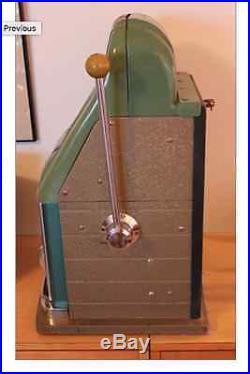 Antique Original MILLS NICKEL SLOT ARCADE SLOT MACHINE 1940s Local Pick Up Only