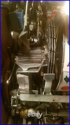 Antique Pace 5 Cent Coin Op 777 Slot Machine Beautiful Machine