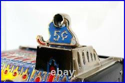 Antique Pace 5-cent Comet Slot Machine 1930s