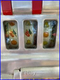 Antique Pace 50 cent slot machine