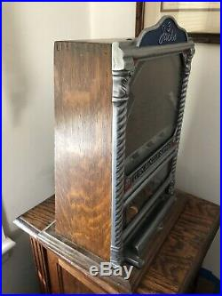 Antique Penny slot machine 3 Jacks Coin Op Staten Island Pick Up