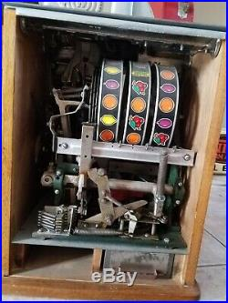Antique Repop Watling Rol A Top Slot Machine Coin Operated Parts or Restoration
