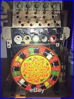 Antique Slot Machine Greyhound Stadium Dog Racing Coin Op