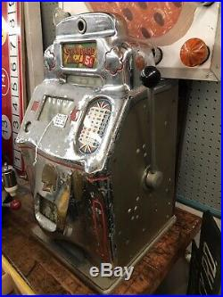 Antique Slot Machine Jennings Standard Chief Slot Machine 5 Cents