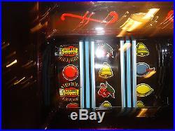 Antique Slot Machine Mills Hightop Nugget 25 Cent