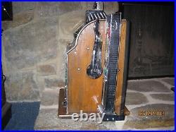 Antique Slot Machine Mills Poinsettia Mint Vendor Skill Stops 1929 Rare