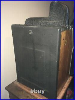 Antique Slot Machine Original Working Still Retains Original Finish Castle Front