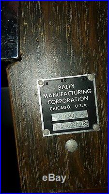 Antique Slot Machine for Frank Lefty Rosenthal Movie Casino Tangiers Bally 1090