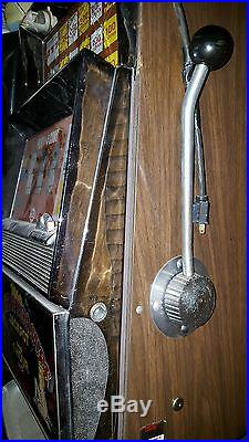 Antique Slot Machine from real Vegas Brothel Perfect Man Cave Piece
