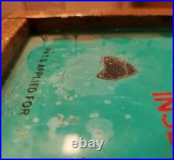 Antique Sparky Trade Simulator 5 Cent Coin Operated Poker Machine