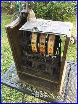 Antique Trade Stimulator 3 Wheel 5 162 Slot Machine Ode D
