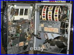 Antique Vintage Bally's Slot Machine' (5 Liner E-1347) Beautiful Shape Near Mint