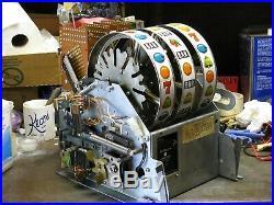 Antique Vintage Bally's Slot Machine' 5 Liner (model 873-a) Beautiful Shape