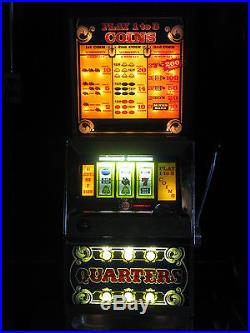 Antique Vintage Bally's Slot Machine' Buy A Pay 25 Cent Clean And In Nice Shape