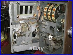 Antique Vintage Bally's Slot Machine' (model 809-b 1968) Clean' Nice Shape