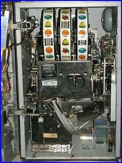 Antique Vintage Bally's Slot Machine' (seven Coin) Super Clean' Beautiful Shape