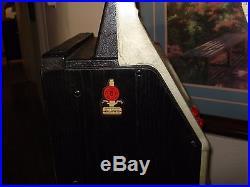 Antique Vintage Mills Black Cherry 5 cent Slot Machine