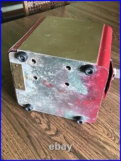 Antique Vintage Mills Vest Pocket Nickel Slot Machine WORKS Casino Game Toy Old