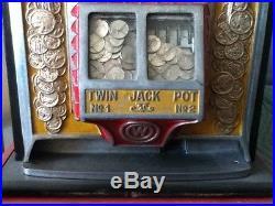 Antique Watling 25c Roll-A-Top