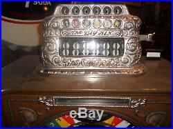 Antique Watling Big 6 Upright Slot Machine
