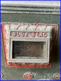 Antique Watling Blue Seal 5 Cent Slot Machine, In Need Of Restoration