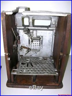 Antique Watling Blue Seal Jackpot Slot Machine Casino Quarter 25c Coin Op USA