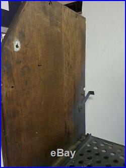 Antique Watling Coin Op Slot Machine Cabinet