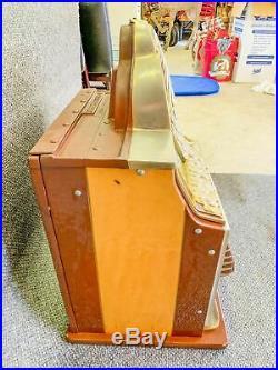 Antique Watling Rol-A-Top 10c Cent Dime Slot Machine Working Excellent Condition