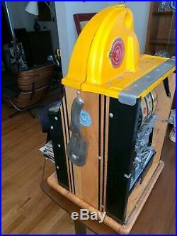 Antique Watling Rol-A-Top 5c Cent Nickel Slot Machine