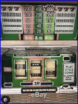 Antique coin slot machine